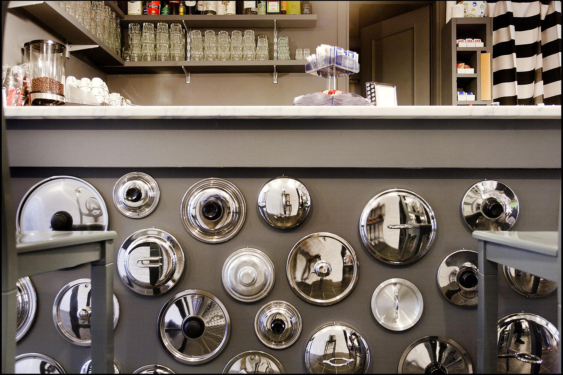 Piatto Unico / Reggio Emilia – Italy Client: Piatto Unico Via Campo Marzio, Reggio Emilia – Italy 75 sq.m. Year: 2011 Photo: Bruno Cattani