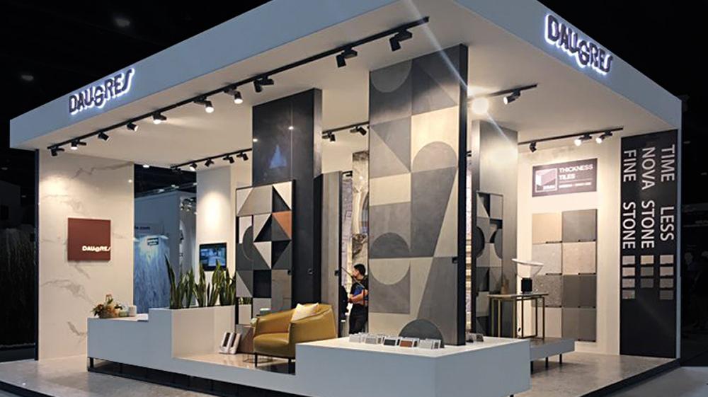 Daugres booth for the Architect Expo Fair, Bangkok – Thailand